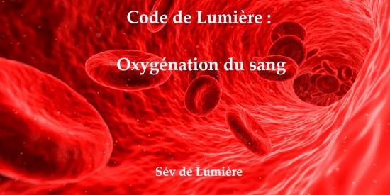 Oxyg2nation du sang