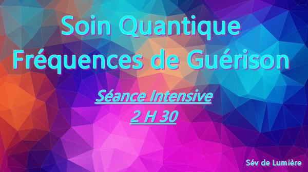 Soin quantique frequence intensive